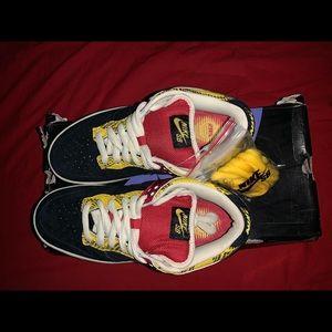 Nike Shoes - Rare 2008 Nike SB dunk Snake Coral